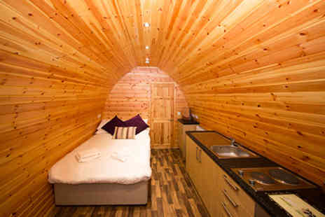 Wall Eden Farm - Two Night Somerset Escape in the Strawberry or Raspberry Glamping Pod - Save 20%