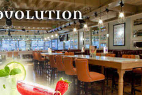 Revolution - 2 Cocktails & a Sharing Platter & 2 cinema tickets - Save 64%