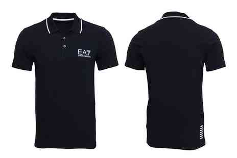 Groupon Goods Global GmbH - Emporio Armani Mens EA7 Polo Shirt With Free Delivery - Save 0%
