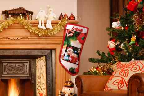 FOTICOS SL - One, Two or Three Personalised Christmas Stocking Socks - Save 0%