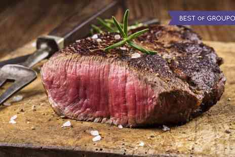 Arisaig Bar and Restaurant - Chateaubriand Steak and a Bottle of Wine for Two or Four - Save 45%