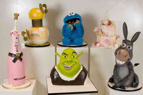 3D Cakes - 2.5 hour or Full Day Cake Masterclass for One or Two - Save 74%