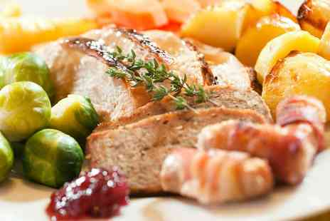 The Manor Hotel - Three Course Christmas Lunch for One or Two - Save 0%