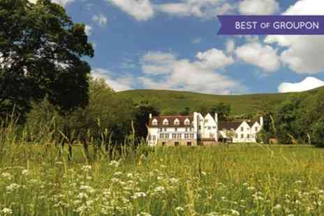 Losehill House Hotel and Spa - One Night Stay for Two with Breakfast, 7 Course Dinner and Prosecco - Save 40%