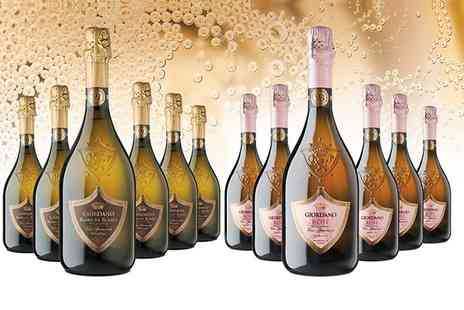 Giordano Wines - 12 bottles of Italian sparkling wine Plus Delivery Included - Save 0%