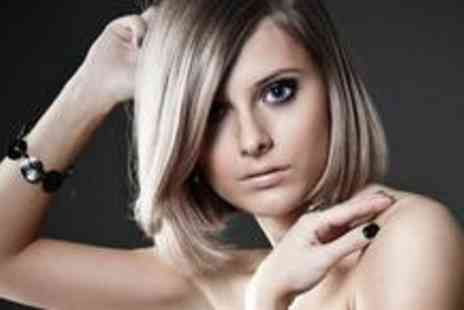 Jackie & Co - Half a head of highlights or a full tint plus a cut, blow dry and Nano Keratin treatment - Save 82%