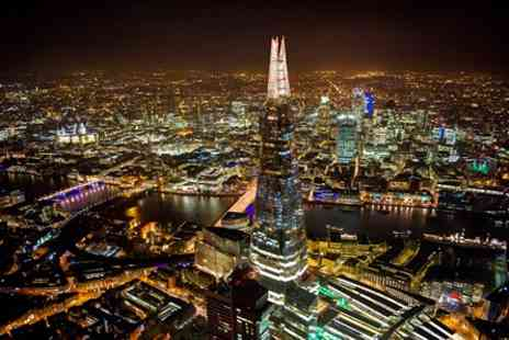 The View - Champagne at The View from The Shard for Two - Save 24%