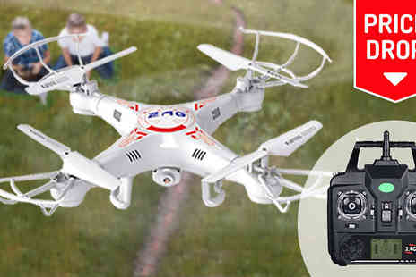 Eblacksquare - 2.4G RC Drone Optional HD Camera and Battery Extras - Save 82%