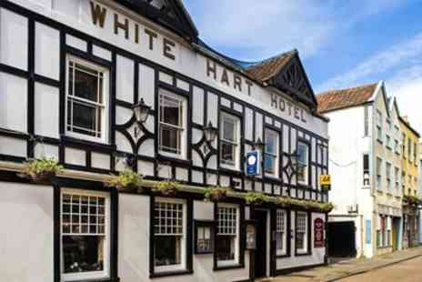 The White Hart Hotel - Wells Stay including 5 course Tasting Menu Dinner - Save 47%