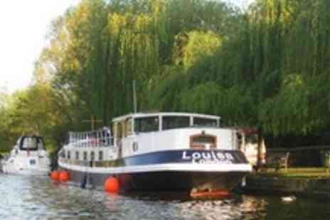 Barge Louisa - In Oxfordshire Upper Thames Barge Day Cruise For Ten With Four Course Lunch and Cream Tea - Save 65%