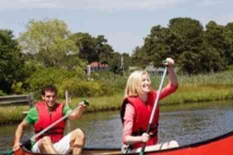 Canoe the Wye - Summer Evening Guided Canoe Trip With Riverside Barbecue For Three - Save 62%