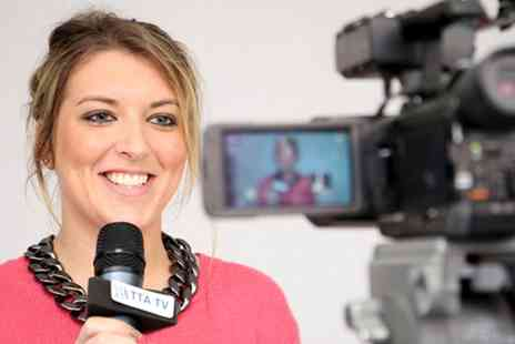 The TV Training Academy - One Day TV Presenter Taster Workshop for Two - Save 94%