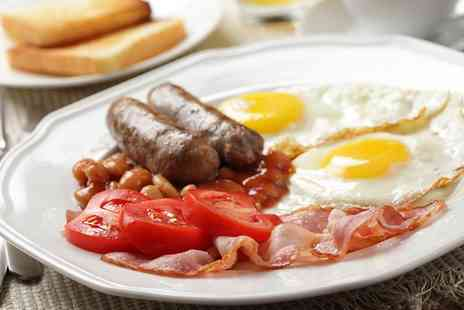 Tea on the Wall - Full English Breakfast for One or Two - Save 0%