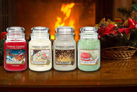 Wowcher Direct - Christmas Yankee Candle - Save 32%