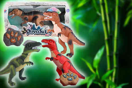 DIRECT2PUBLIK - Remote controlled dinosaur - Save 62%