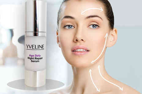 Bellezocom - Yveline Age Defy Night Repair serum - Save 90%