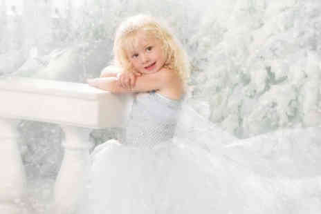 Eileen Mason Photography - Ice princess fantasy photoshoot for up to two siblings including a photo mug and two keyrings - Save 82%