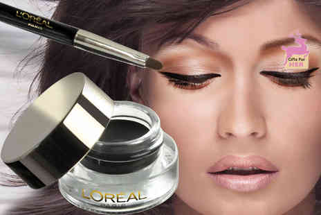 Ckent - L'Oreal super liner gel intenza eye liner in golden black 02 - Save 0%