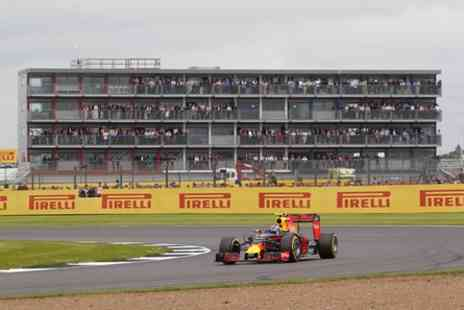 Silverstone  - 2017 Formula 1 British Grand Prix Race Day Grandstand Tickets for Two - Save 0%