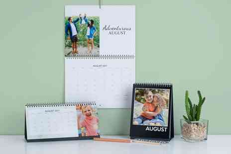 Photobook UK - Personalised Wall and Desk Calendar - Save 0%