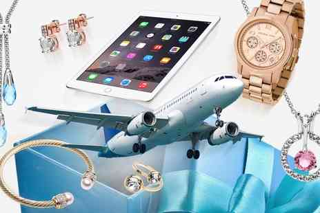 Groupon Goods Global GmbH - Regular or Deluxe Mystery Gift with a Chance to Win Watch, iPad or Flight to New York - Save 0%