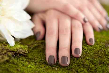 DK Thompson Unisex Salon - Gel Polish Manicure, Pedicure or Both - Save 0%