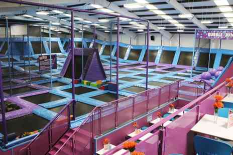 Jump Nation - One Hour Trampoline Park Access for Up to Four - Save 44%