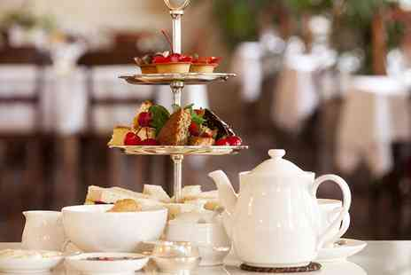 The Manor Hotel - Festive Afternoon Tea with Mulled Wine for Two - Save 0%