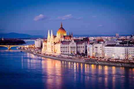 Tour Center - Four or six night 4 Star Rome and Budapest break with flights and a river cruise - Save 25%