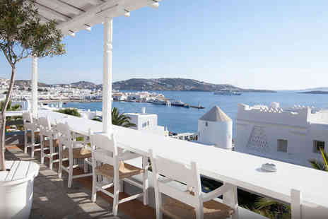 Porto Mykonos -  Four Star 10 nights Stay in a Double Sea View Room - Save 37%