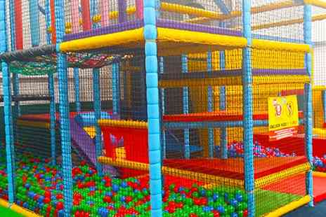 Humpty Dumpty - Soft Play Party for Ten Kids with a Hot Meal and Dessert - Save 38%