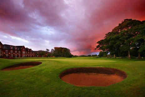 Formby Hall Golf Resort & Spa - A day of golf and lunch for two people - Save 39%