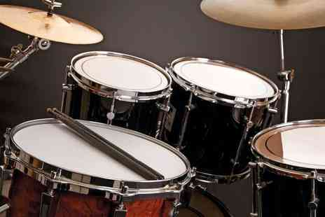 Roddy Gray Drum School - Four drum lessons - Save 62%