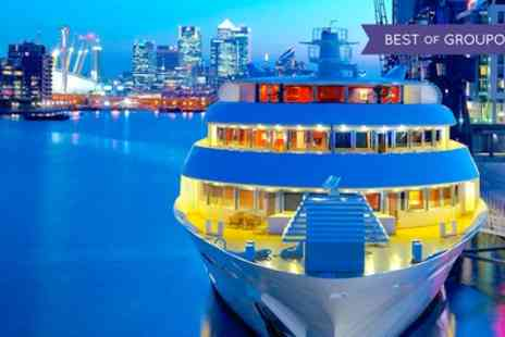 Sunborn Luxury London SuperYacht Hotel - One Night Stay for Two with Breakfast, Late Check Out and Optional Packages - Save 0%