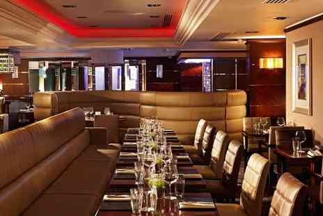 Marble Arch Hotel - Steak Meal & Wine for 2 near Oxford Street - Save 57%