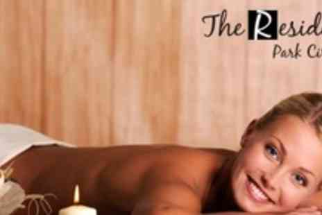 The Residence - Spa Package With Two Treatments, Three Fitness Class Passes, and Afternoon Tea For One - Save 69%