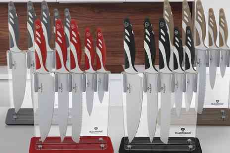 Groupon Goods Global GmbH - Six Piece Knife Set with Stand - Save 0%