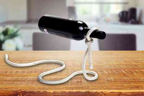 ViVo Technologies - Magic wine bottle holder choose from two designs - Save 65%