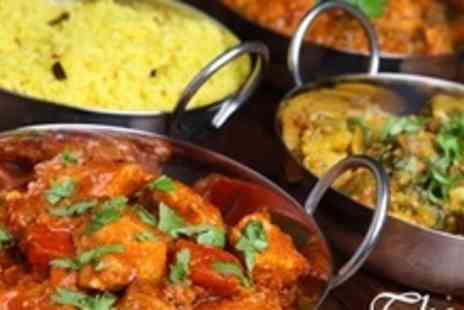 The Red Veil - Three Course Indian Meal With Rice or Naan For Two - Save 57%