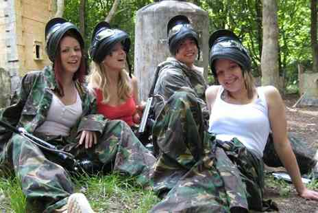 Nationwide Paintball - Paintball for Groups of up to Five, Ten, 15 or 20 People - Save 0%