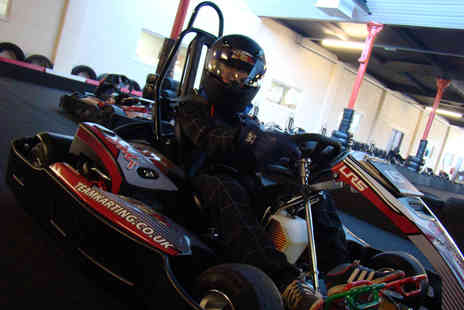 Team Karting - 30 minute go karting experience with 50 laps - Save 41%