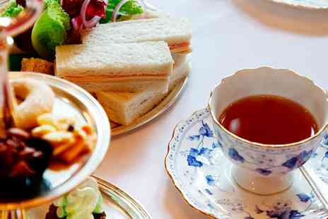 The Secret Tea Rooms - Afternoon Tea with a Glass of Bubbly for One or Two - Save 20%