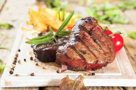 Farthings Country Hotel - Steak Meal with Optional Wine for Up to Four - Save 52%