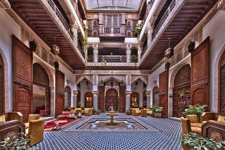 Riad Salam Fes - Five Star 7 nights Stay in an Ambassador Suite - Save 49%