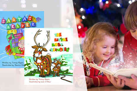 The Lemon Tree - Personalised Childrens Christmas Story Two Book Set - Save 28%