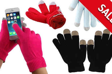 The Fone Stuff - Touch Screen Winter Gloves in 4 Colours - Save 33%