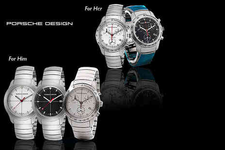 Class Watches - Porsche Design mens or womens watch choose from five designs - Save 59%