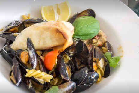 Cheikhos Restaurant - Two course Italian meal for two including a starter and main each - Save 54%