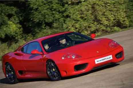 Ferrari 360 F1 - Junior supercar driving experience with Ferrari 360 F1, Throckmorton Airfield - Save 62%