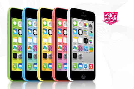 Fone Plaza - Grade B unlocked 8GB iPhone 5c choose from five fab colours - Save 0%